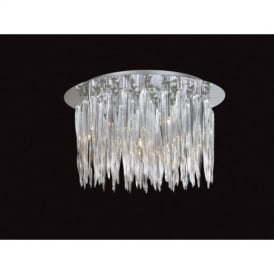 Tiara Flush Ceiling Light Fitting 6041