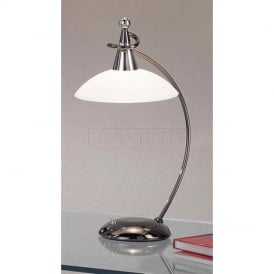 TL850 Asti 1 Light Black Chrome Table Lamp