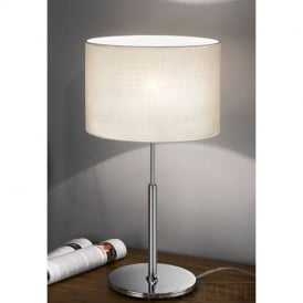 TL856 One Light Table Lamp With Chrome Finish
