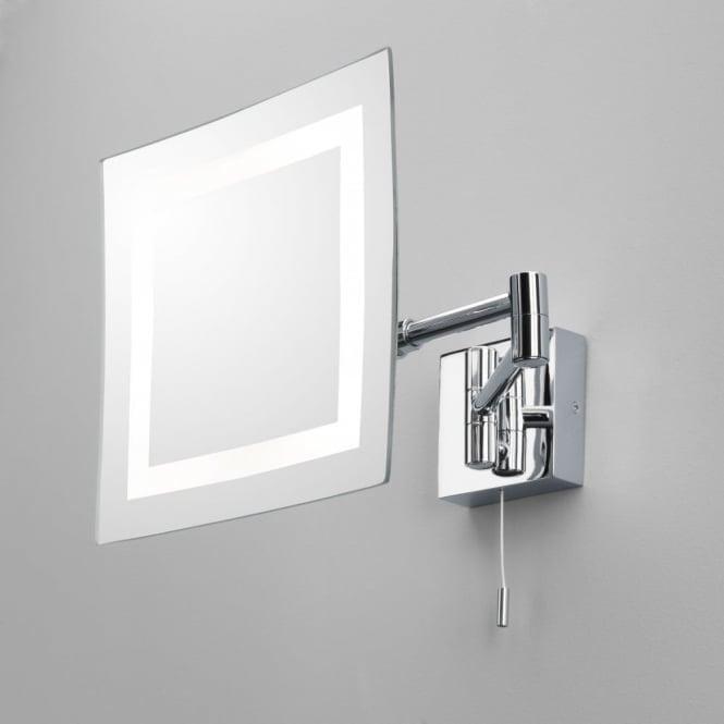 Torino Led Magnifying Bathroom Mirror, Extendable Bathroom Mirror