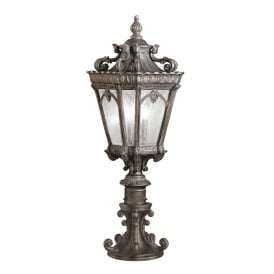 Tournai Outdoor Large Pedestal Lantern In Londonderry Finish KL/TOURNAI3/L