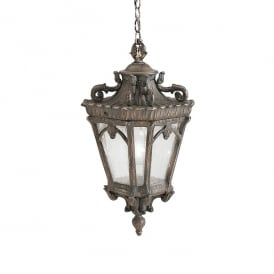 Tournai Outdoor XL Ceiling Chain Lantern In Londonderry Finish KL/TOURNAI8/XL
