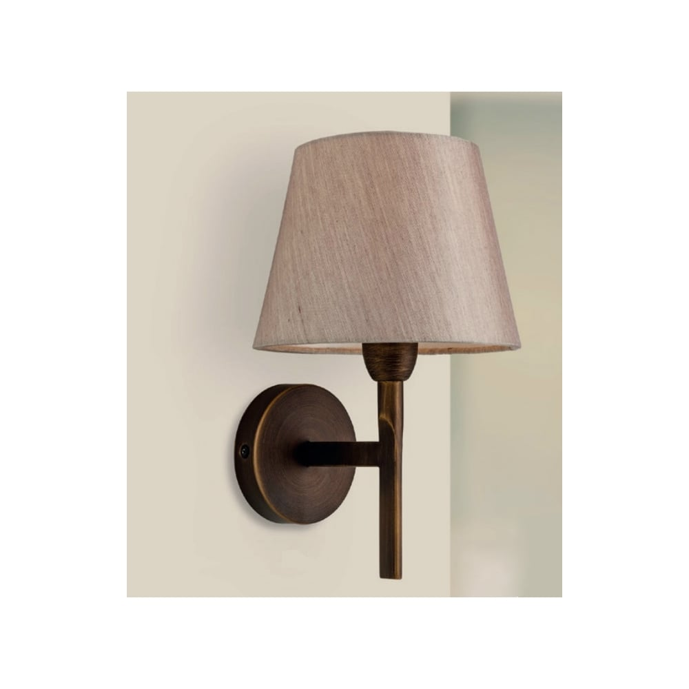 Bronze Finish Wall Lights : Firstlight Transition Modern Wall Light In Bronze Finish With Oyster Shade 8217BZ - Lighting ...