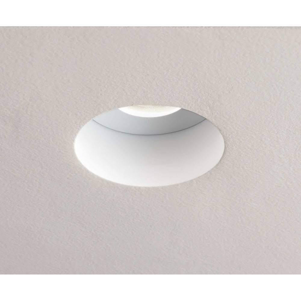 Astro Contract Trimless Led Recessed Ceiling Light In Matt White Finish 1248011 Lighting From The Home Lighting Centre Uk