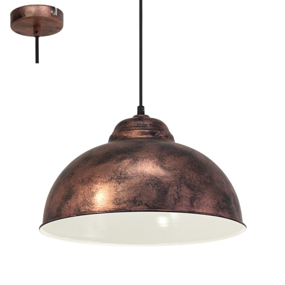 Eglo Lighting Truro 2 Vintage Ceiling Pendant Light In