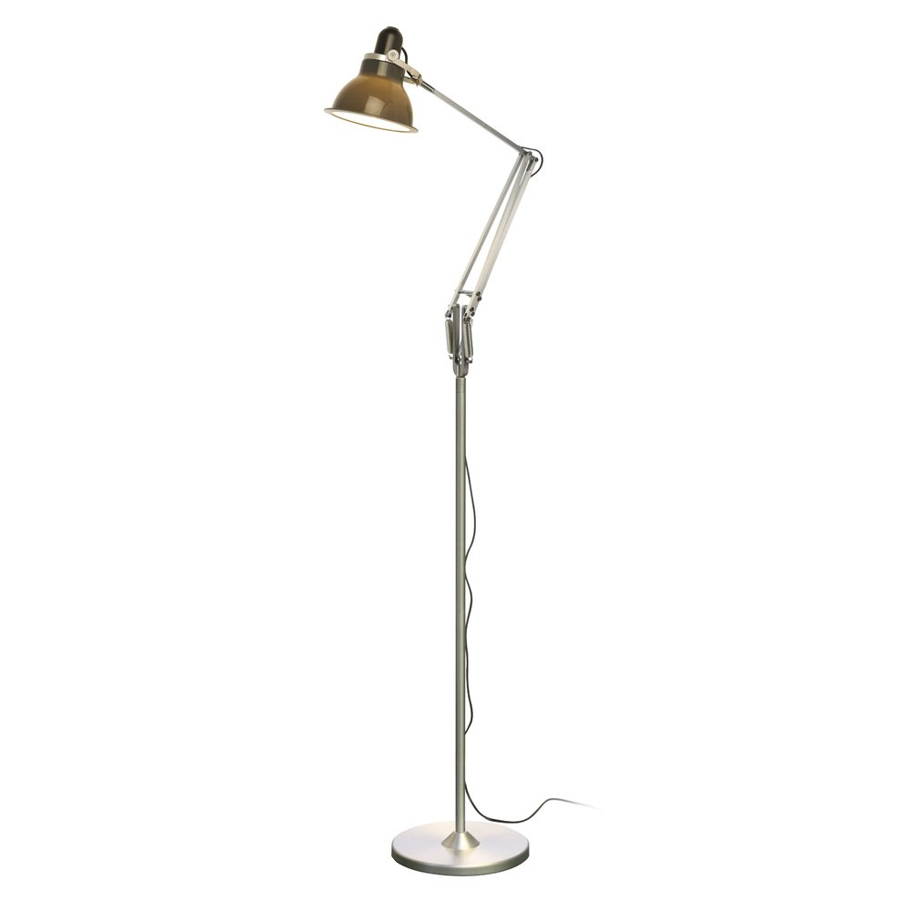 anglepoise type 1228 floor lamp granite grey anglepoise from the home lighting centre uk. Black Bedroom Furniture Sets. Home Design Ideas