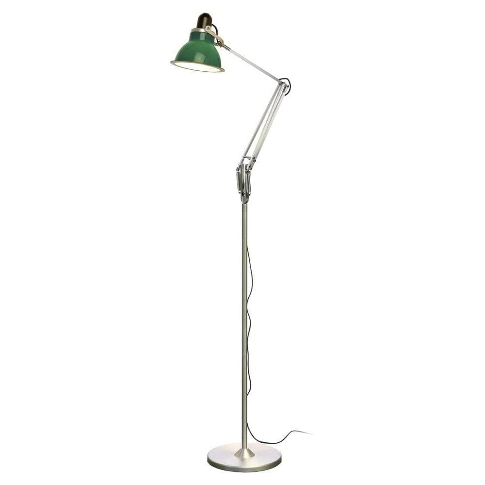 type 1228 floor lamp mid green lighting from the home lighting centre uk. Black Bedroom Furniture Sets. Home Design Ideas