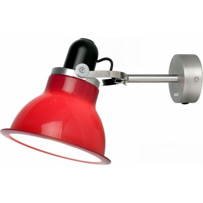 Anglepoise Type 1228 Wall Light, Carmine Red
