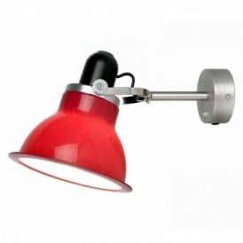 Type 1228 Wall Light, Carmine Red
