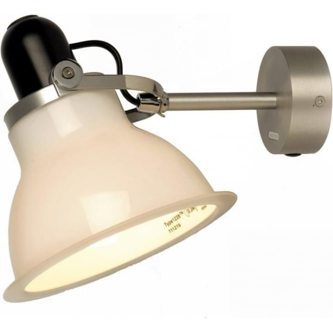 Anglepoise Type 1228 Wall Light, Ice White