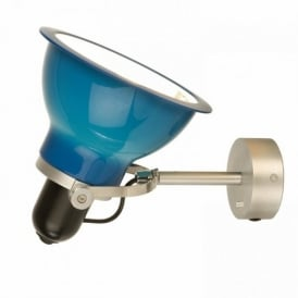 Type 1228 Wall Light, Minerva Blue