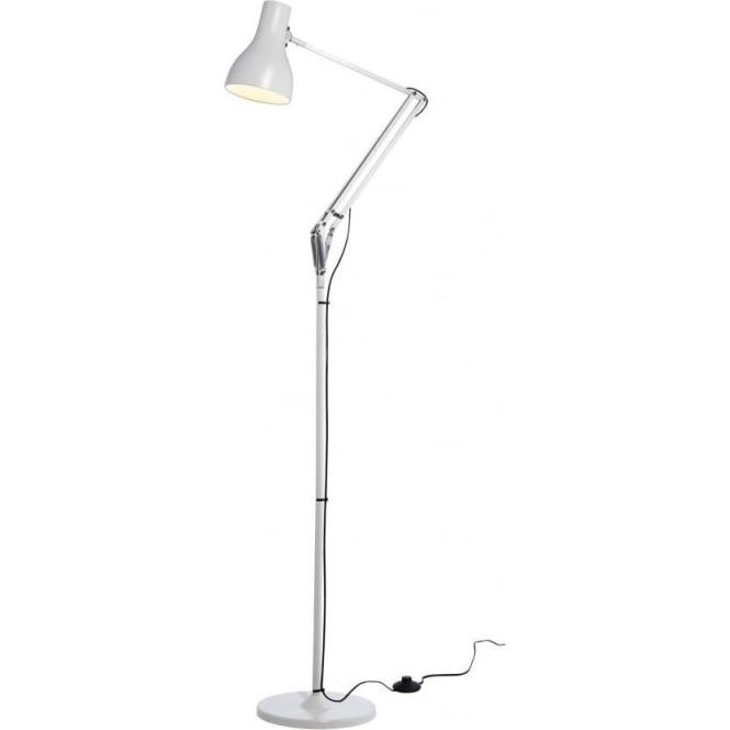 Anglepoise Type 75 Floor Lamp, Jasmine White