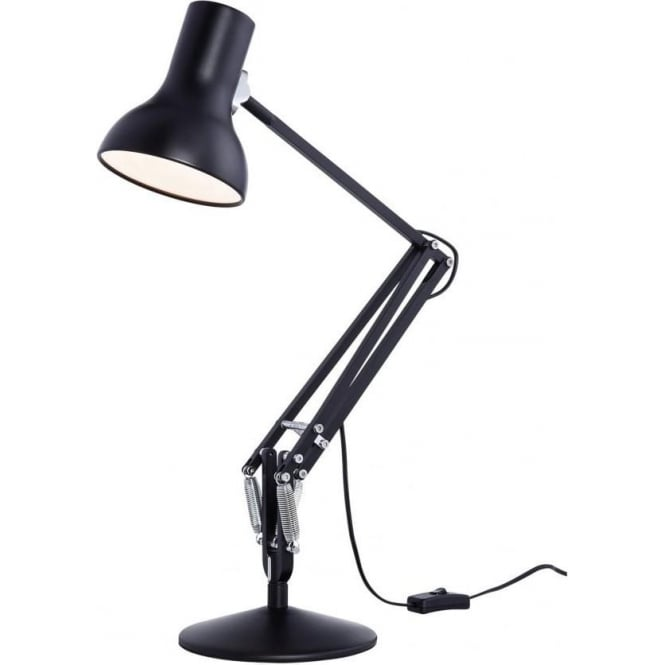 Anglepoise Type 75 MINI Desk Lamp in Jet Black