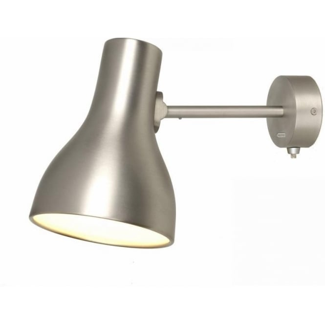Anglepoise Type 75 Wall Light in Brushed Aluminium