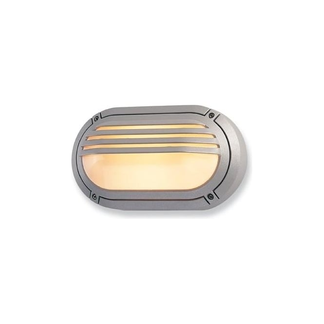 Firstlight V401 Verona Outdoor Silver Wall Light