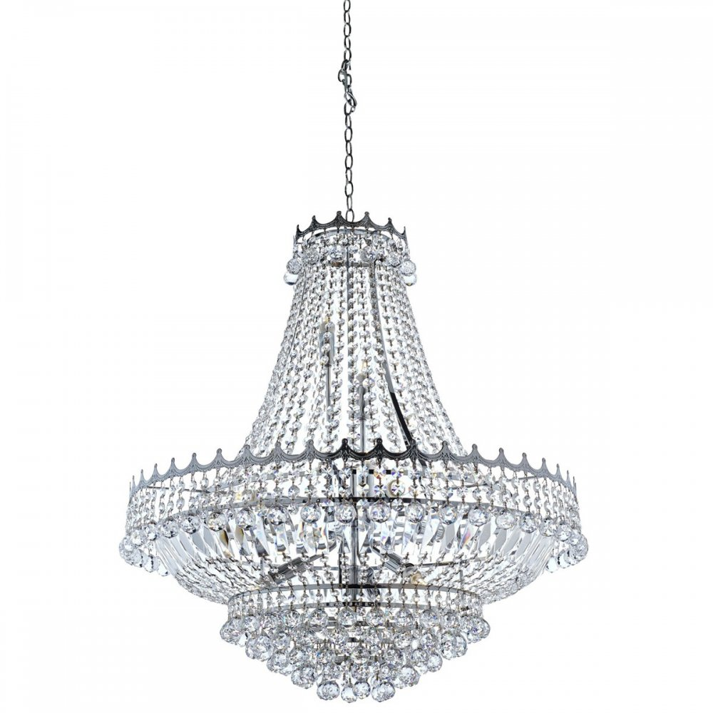 Searchlight Versailles Classic Crystal Chandelier In