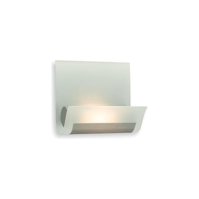 Firstlight Vetro Halogen Glass Wall Light - WL228