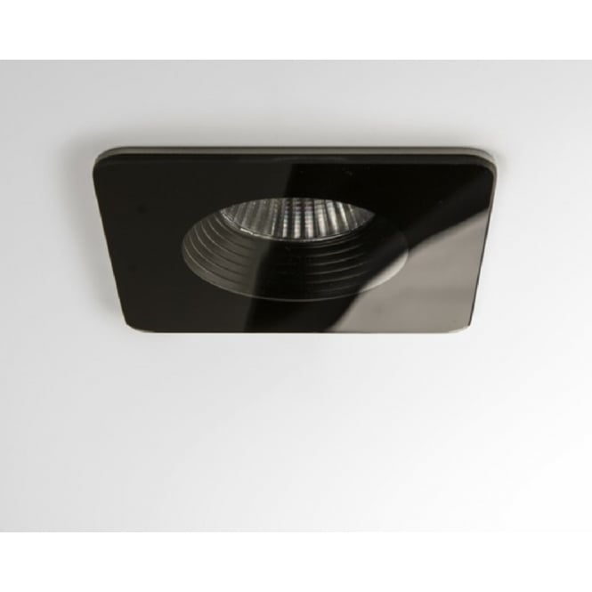 Astro Lighting Vetro Modern square Recessed LED Downlight In Black Finish IP65 5755