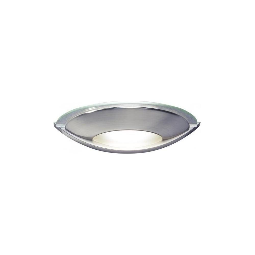 newest collection e0e59 ff7c2 VIA0746 Via Satin Chrome Wall Light