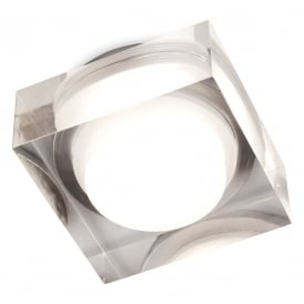 View LED Dimmable Square Acrylic Bathroom Downlight IP44 2342