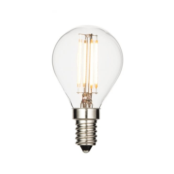 Saxby Lighting Vintage Small Edison Screw Clear LED Golfball 4 Watt 61538