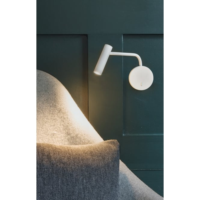 Astro Lighting Wall Reading Light LED In White Finish ENNA WALL 7588