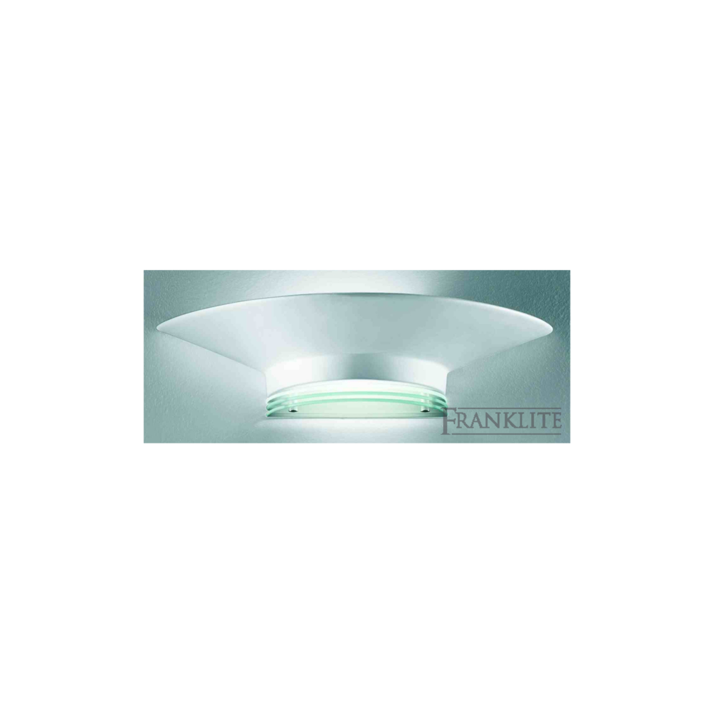 Wall Light Ceramic Uplighter : Franklite Lighting WB556 Uplighter Wall Light With Ceramic Finish - Lighting from The Home ...