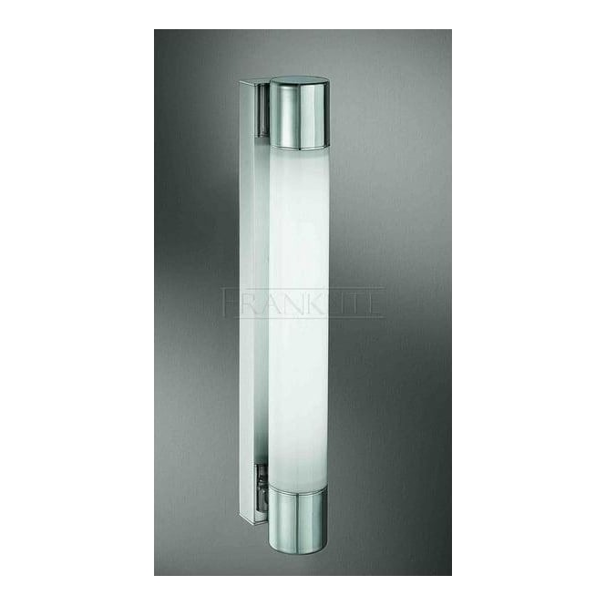 Franklite Lighting WB595EL Low Energy Chrome Bathroom Wall Light, IP44