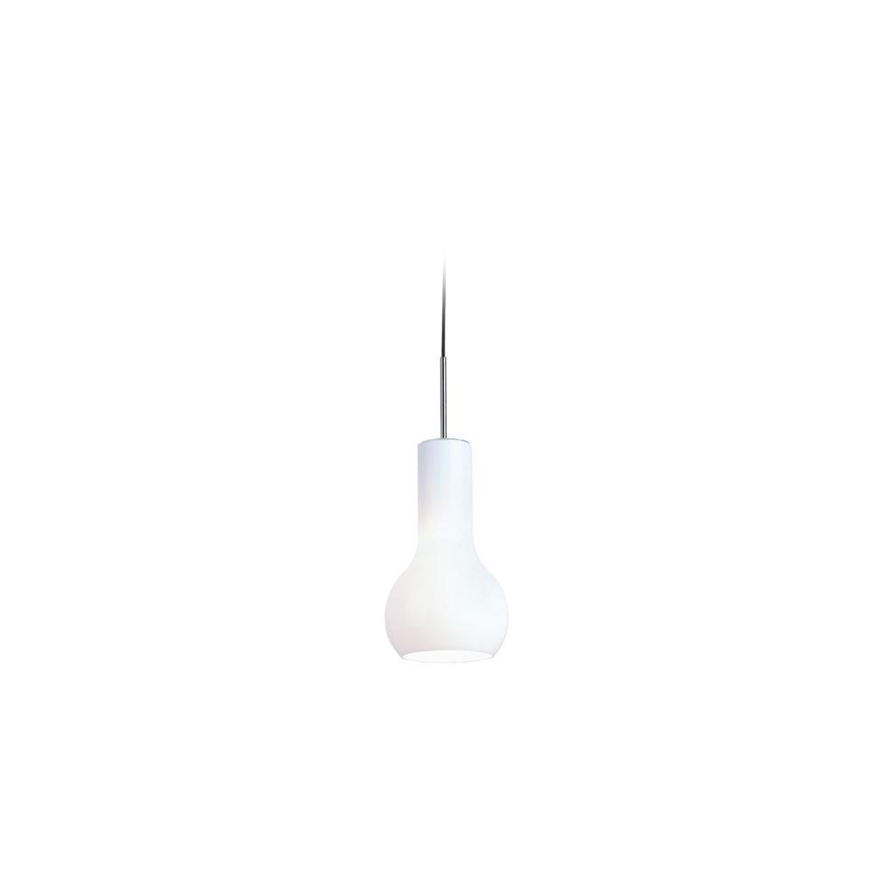 Firstlight White Glass Pendant Ceiling Light 3331WH