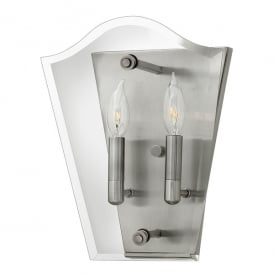 Wingate Wall Light in Antique Nickel Finish HK/WINGATE2