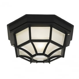 YG-0100-BL Outside Light In Black, IP44