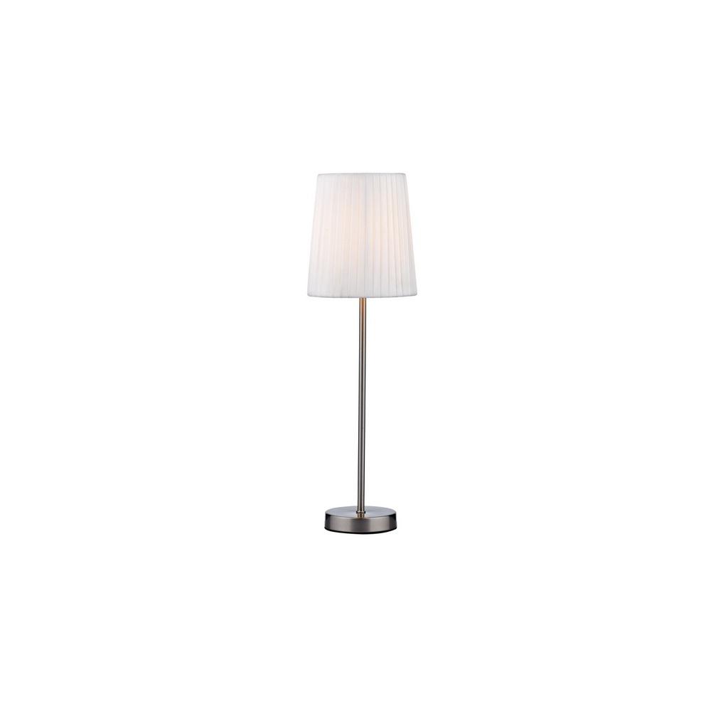 ZOR4146 Zorro Satin Chrome Table Lamp   Base Only